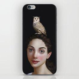 Miss Owl iPhone Skin