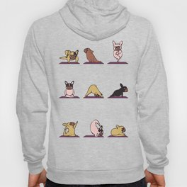 French Bulldog Yoga Hoody
