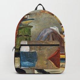 The Poor Poet - Carl Spitzweg Backpack