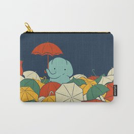 Umbrellaphant Carry-All Pouch