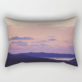 Amanecer en Ibiza Rectangular Pillow