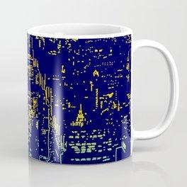 Chicago city lights at night Coffee Mug