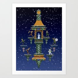 Christmas Wonders Art Print