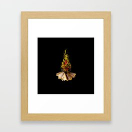 Color Bonfire Framed Art Print