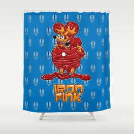 Iron Fink Shower Curtain