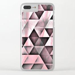 Pink's In Clear iPhone Case