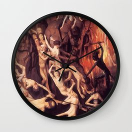 Last Judgement Wall Clock