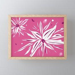 Floral Burst Framed Mini Art Print