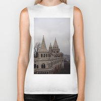 budapest hotel Biker Tanks featuring Budapest by L'Ale shop