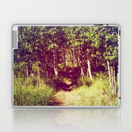 Narrow is the Path Laptop & iPad Skin