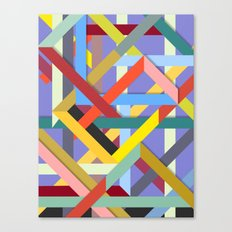 Abstract #225 Corners, Intersections & Dead Ends Canvas Print
