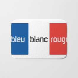 Bleu Blanc Rouge Bath Mat