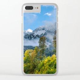 Mount Fisht Clear iPhone Case