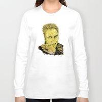 christopher walken Long Sleeve T-shirts featuring Christopher by Rabassa