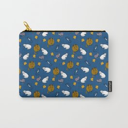 Mouse and Cat and Cheese Carry-All Pouch