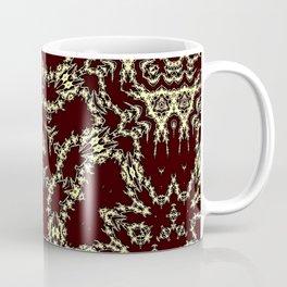 Brown Ornamental Geometric Mosaic Coffee Mug