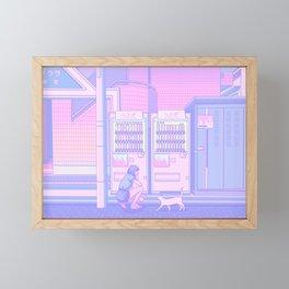 Vending Machines Framed Mini Art Print