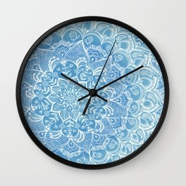 Blueberry Lace Wall Clock