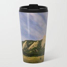 Starry Flatirons Travel Mug