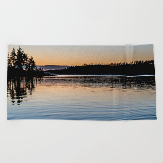 nature Beach Towel