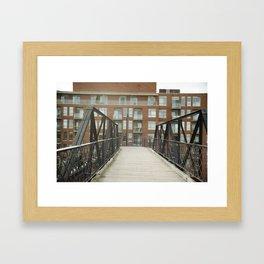 Junction Bridge Framed Art Print
