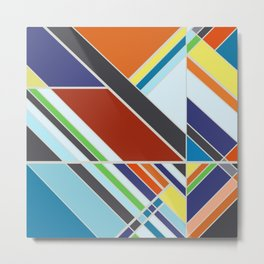 Abstract Composition 507 Metal Print