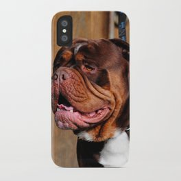 beautiful breed dog renascence bulldog iPhone Case