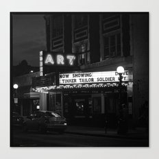 The Art Theater. Canvas Print