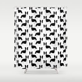 I love my Border Collie Shower Curtain
