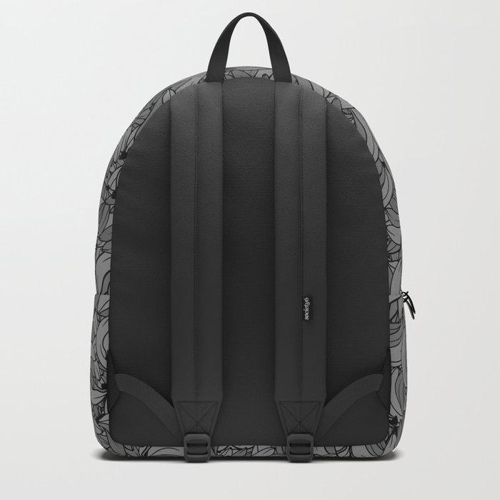 Plenty of Bananas - Gray Backpack