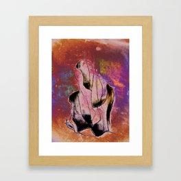 MONOLITOCONVEXO Framed Art Print