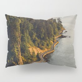 A Curvy Park - Vancouver, British Columbia, Canada Pillow Sham
