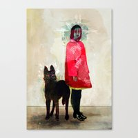ghost busters Canvas Prints featuring Ghost by Feline Zegers