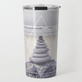 Rockbalancing And Geometry Travel Mug