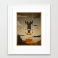return Framed Art Prints featuring The Return by Danny Haas