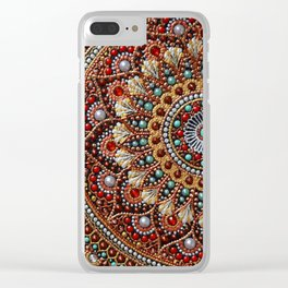 Autumn moment Clear iPhone Case