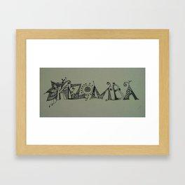kizomba Framed Art Print