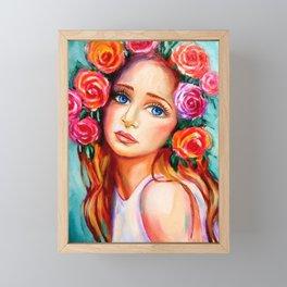 Beautiful Women of The World  Framed Mini Art Print