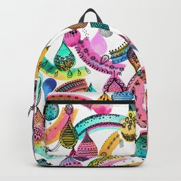 Rainbow lace - Christmas happiness drops Backpack