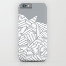 Abstract Mountain Grey iPhone 6s Slim Case