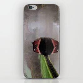 Mystical Barge on the Canal iPhone Skin