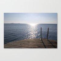 swedish Canvas Prints featuring swedish sun by Gabriela Fuente