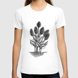 Furry Flowers T-shirt