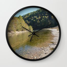 Where Canoes and Raccoons Go Series, No. 17 Wall Clock