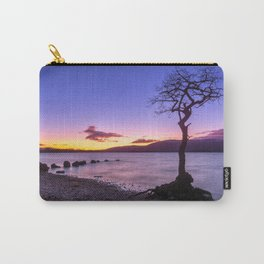 Scottish winter @ blue hour Carry-All Pouch