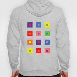 Colorful cubes Hoody