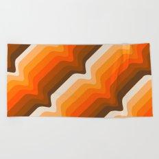 Golden Wave Beach Towel
