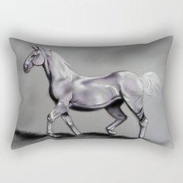 The Grey Horse Rectangular Pillow