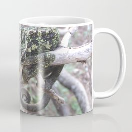 Colourful Chameleon Wrapped Around A Branch Coffee Mug