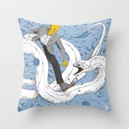 HJMB Throw Pillow